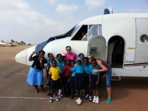 School trip to Kajjansi Airfield