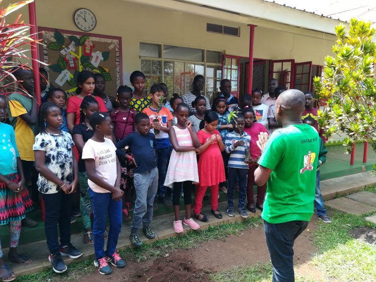 Tree planting  to help our environment